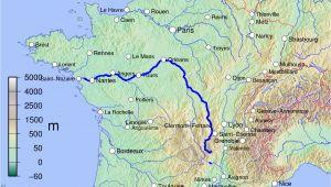 Map Loire Valley France Loire Wikipedia
