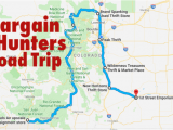Map Loveland Colorado This Bargain Hunters Road Trip Will Take You to the Best Thrift