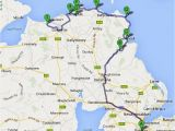 Map My Route Ireland Causeway Coastal Route the World S Prettiest Drive