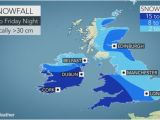 Map My Run Ireland Storm Emma to Produce Travel Chaos Blizzard Conditions Across