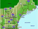 Map New England Highway 60 Best New England Maps Images In 2019 England Map New England