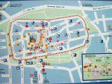 Map Newcastle England Xanten tourist Map Xanten Germany Mappery touristenkarte Karten