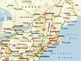 Map northeast Us and Canada Map Of northeastern United States Pergoladach Co