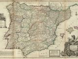 Map Od Spain File Spain and Portugal Herman Moll 1711 Jpg Wikimedia