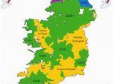 Map Of 16th Century England 16th Century Ethnicity Map Of Ireland Ireland 1500s Map