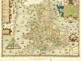 Map Of 16th Century England Antique Map Of England Stock Photos Antique Map Of England