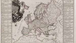 Map Of 18th Century Europe the First attempt at Economic Mapping Rare Antique Maps