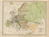 Map Of 19th Century Europe the Balkans Historical Maps Perry Castaa Eda Map Collection
