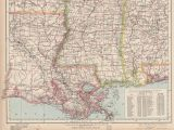 Map Of Alabama and Mississippi Beaches Vintage Map Of the Gulf Coast Stock Photos Vintage Map Of the Gulf