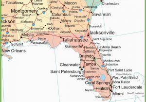 Map Of Alabama and Mississippi Coast Map Of Alabama Georgia and Florida