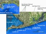 Map Of Alabama Beaches Alabama S Main Gulf Facing Sandy Beach Shoreline and Sampling
