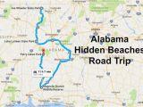 Map Of Alabama Beaches the Alabama Hidden Beaches Road Trip