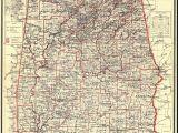 Map Of Alabama Counties Alabama Highway Map New Alabama Maps Alabama Digital Map Library