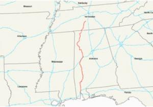 Map Of Alabama Highways U S Route 43 Wikipedia