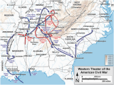 Map Of Alabama Mississippi and Tennessee Western theater Of the American Civil War Wikipedia