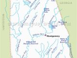 Map Of Alabama Rivers Alabama Rivers Map Rivers In Alabama