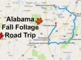 Map Of Alabama Roads This Dreamy Road Trip Will Take You to the Best Fall Foliage In All