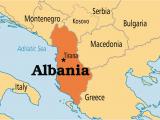 Map Of Albania In Europe Albania Albania En Geography social Studies