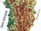 Map Of Albania In Europe Shqiperia Reale Kulture Shqipetare Albanien Und Kultur