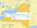 Map Of Albany oregon Erie Canal Maps