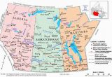 Map Of Alberta Canada and Montana Plan Your Trip with these 20 Maps Of Canada