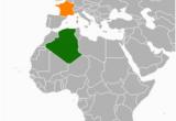Map Of Algeria and France French Algeria Revolvy