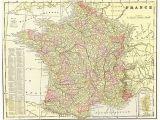 Map Of Algeria and France Map Of France 1905 On Onekingslane Com 125 16 L X 20 W
