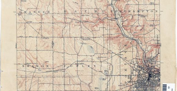 Map Of Allen County Ohio Ohio Historical topographic Maps Perry Castaa Eda Map Collection