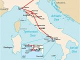 Map Of Amalfi Italy Ultimate Italy the Best Of Italy In Two Insane Weeks In Brief