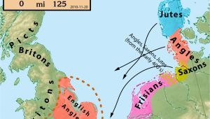Map Of Ancient England 25 Maps that Explain the English Language Middle Ages Map