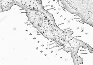 Map Of Ancient Italy Cities Italy Map Stock Photos Italy Map Stock Images Alamy
