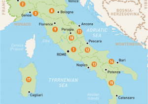 Map Of Ancient Italy Cities Map Of Italy Italy Regions Rough Guides