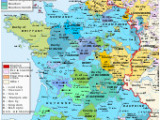 Map Of areas Of France Early Modern France Wikipedia