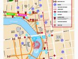 Map Of arena District Columbus Ohio event Guide Red White Boom