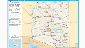 Map Of Arizona and Grand Canyon Maps Of the southwestern Us for Trip Planning