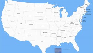 Map Of Arizona and Surrounding States United States Map with the Abbreviations Fresh A Map the United