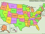 Map Of Arizona California Border United States Map with State Borders Best United States Map Outline