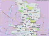 Map Of Arizona City Az Buy Phoenix City Map