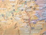 Map Of Arizona Highways Sr 179 Highlight Map Red Rock Scenic Highway Sedona Az Picture