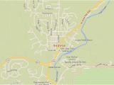 Map Of Arizona Showing Sedona Sedona Arizona Map with Directions and Address