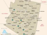 Map Of Arizona Showing Yuma Pin by United Nations the Holy See On Arizona Pinterest Arizona