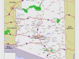 Map Of Arizona State Parks Arizona National Parks Map Elegant Map California National Parks