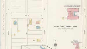 Map Of Arizona Tempe File Sanborn Fire Insurance Map From Tempe Maricopa County Arizona