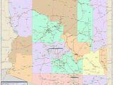 Map Of Arizona Zip Codes Arizona Zip Code Map