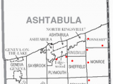 Map Of ashtabula Ohio ashtabula County Ohio Revolvy