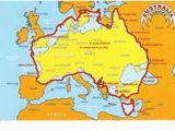Map Of Australia with Europe Inside Die 337 Besten Bilder Von Maps Of World In 2018 Landkarten