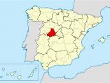 Map Of Avila Spain Bistum A Vila Wikipedia