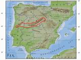 Map Of Avila Spain Iberisches Scheidegebirge Wikipedia