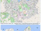 Map Of Bangor northern Ireland Historic Map Ireland Stockfotos Historic Map Ireland