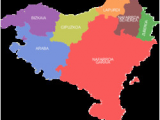 Map Of Basque Country Spain Basque Country Greater Region Wikipedia
